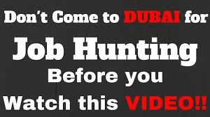 how to do job search how to do job hunting in dubai uae search or find a local