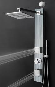 ideas shower systems pinterest:  jet easy connect shower panel system in silver