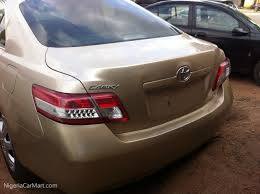 2010 Toyota Camry LE used car for sale in Lagos Nigeria ...