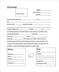 Cash Receipt Forms 9 Cash Receipt Templates Free Sample Example Format Download