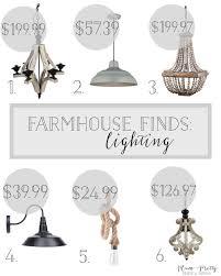 Farmhouse Style Lighting Plum Prettyfriday Farmhouse Finds Affordable Farmhouse Style