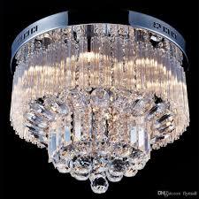Großhandel Moderne K9 Kristall Regentropfen Kronleuchter Beleuchtung Unterputz Led Deckenleuchte Pendelleuchte Für Esszimmer Schlafzimmer Mit 9 G9