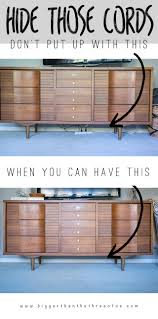 How To Cover Wires 10 Stylish Ways To Hide Unsightly Cords And Wires In Your Home