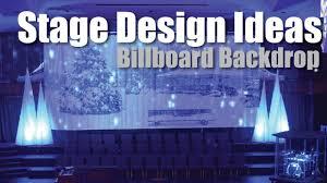 new diy stage backdrop design idea billboard you frame for birthday stand wedding portable black
