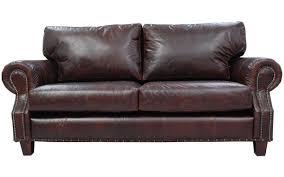 castlederg vintage leather sofa