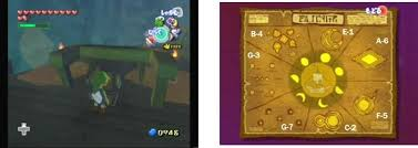 Wind Waker Ghost Ship Chart A 6 Diamond Steppe Island The Legend Of Zelda The Wind