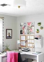 home office makeover. Gorgeous Home Office Makeover   The Decor Fix