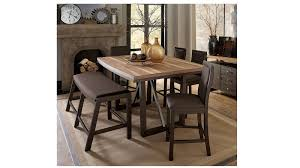 harveys dining room table chairs. hickory 6pcs wooden dining set - walnut harveys room table chairs i