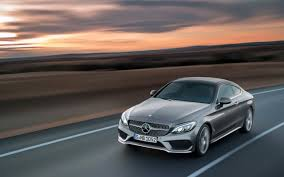 Seat belts can be red, black, or silver. 2016 Mercedes Benz C Class Coupe Red Grey Wallpaper Hd Car Wallpapers Id 5641