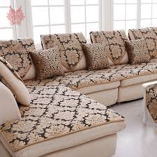 sofa covers. Plain Covers Europe Black Gold Floral Jacquard Terry Cloth Sofa Cover Plush Sectional  Slipcovers Furniture Couch Covers Capa In Sofa Covers