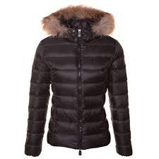 jott luxe double down fur hooded womens jacket