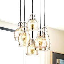 6 light pendant chandelier chrome cognac glass round base 6 light cer pendant chandelier ava 6