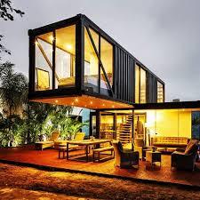 Via Pinterest Modern Open Floor Plan Shipping Container Homes Ideas