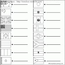Printable Coloring Pages Of Flags Around The Worldl