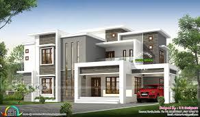 Kerala Flat Roof House Design 2496 Sq Ft Flat Roof Modern Contemporary Kerala House