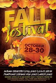 Fall Flyer Fall Festival Flyer Template