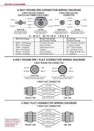 trailer wiring diagrams 7 way wiring diagrams 6 way wiring diagrams
