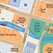 custom maps for print publication San Antonio Hotels On Riverwalk Map san antonio riverwalk visitor map map of hotels on riverwalk san antonio