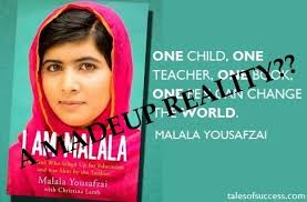 Malala Quotes Cool I Am Malala The Story Of The Girl Who Stood Up For Education And
