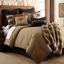lodge elegance ashbury bear comforter sets