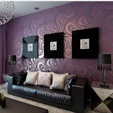 Black White And Purple Living Room Ideas DECORATION