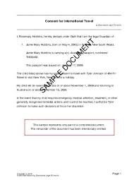 australia child travel consent consent letter for children travelling abroad