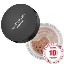 bare minerals original loose powder mineral foundation broad spectrum spf 15
