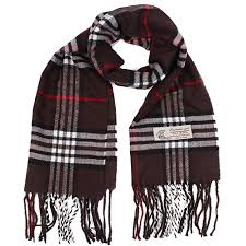 <b>Plaid</b> Cashmere Feel Classic Soft Luxurious <b>Winter Scarf</b> For Men ...