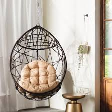Destiny Tear Drop PVC Swing Chair with Stand