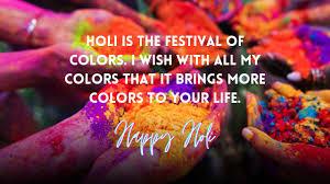Happy Holi 2021 Quotes   Why Is Holi Celebrated? - Nayi Yojana