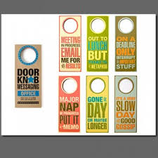 Branding With Door Hangers – Colorfx Blog