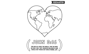 Unique John 3 16 Coloring Page 24 Selection Free Pages Part 2 4