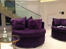 Purple Accent Chairs Living Room Decorate A Small Room With A Big Purple Accent Chair Home