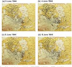 The D Day Landing Of June 1944 Extratropical Cyclones And
