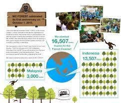Tree Planting Report Mitsubishi Corporation