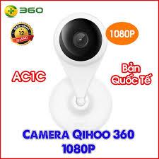 Camera quan sát Qihoo 360 AC1C 1080P Wifi IP Hồng ngoại Góc rộng 130 độ -  Bản Quốc Tế BH12 tháng | thay thế cho D606 - Hệ thống camera giám sát