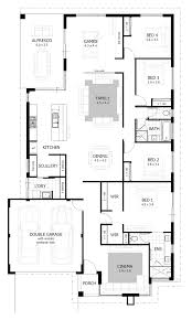 floorplan preview 4 bedroom solandri house design