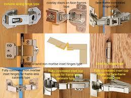 Kitchen Cabinet Hinges Types Door Hinges Types Kitchen Door Hinges