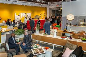 citizen office concept vitra. partygoers celebrate the opening of expanded vitra showroom citizen office concept 0