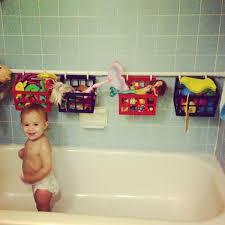 bath toy storage solution