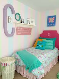 Pottery Barn Girls Bedrooms Twin Girls Room Makeover With Upholstered Monogramed Headboards