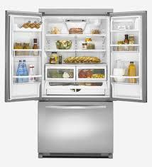 French Door kenmore elite french door refrigerator reviews photos : Kenmore Elite Refrigerator Counter Depth Elegant Kitchen French ...