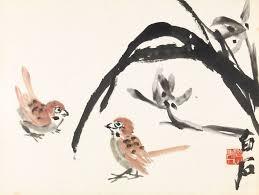 qi baishi sparrows by t flowers birds sotheby s hk0718lot9bdwyen