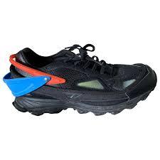 Raf Simons Adidas Size Chart Leather Trainers Adidas X Raf Simons Black Size 40 Eu In