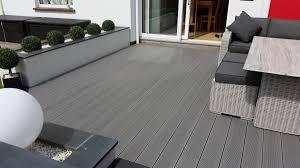 Grey Composite Decking Designs
