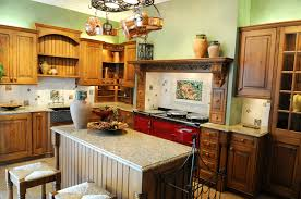 Red Country Kitchen Cabinets 7 Charming Country Kitchen Designs Corpus Christi Texas