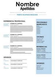 modelo curriculum 50 modelos de curriculum vitae para descargar gratis en word