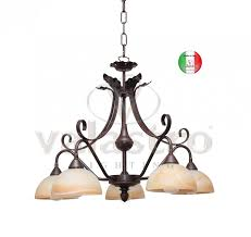 wrought iron chandelier suspension artistic in italy from valastro lighting color structure black