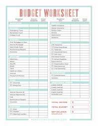 Free Home Budget Templates Excel Spreadsheet Monthly Family