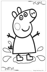 Peppa Pig Immagini Da Colorare Gratuiti Per Bambini